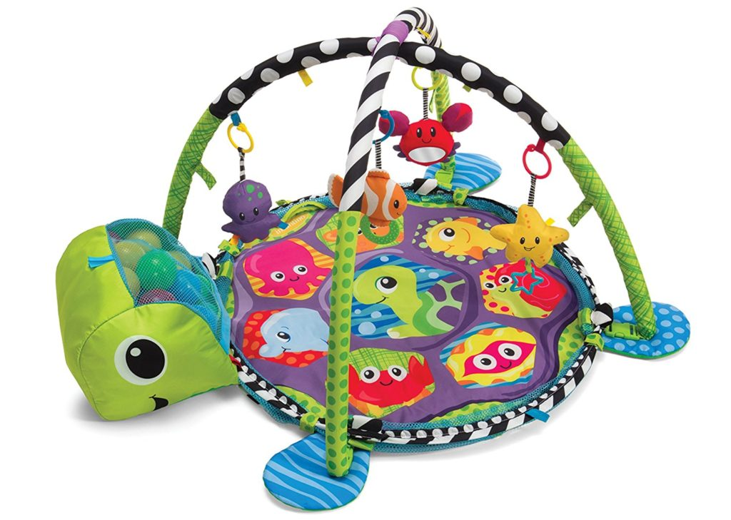 Infantino Grow with Me Activity Gym and Ball Pit Baby Play Mat