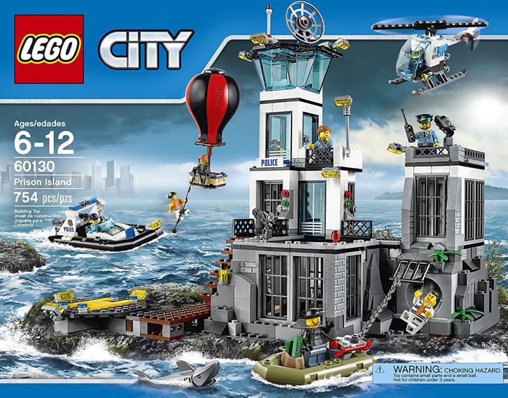 Lego City Prison Island Toys R Us