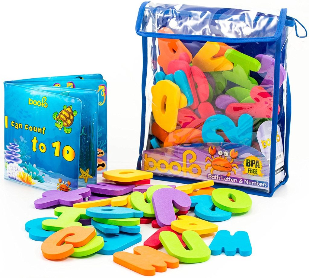 Bath Letters, 36 Educational Foam Letters and Numbers