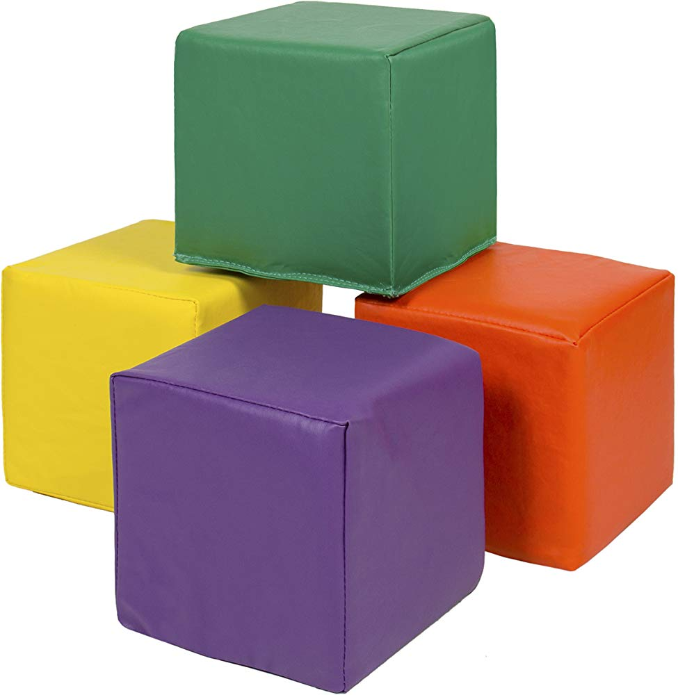 Image of Best Choice Products 7 Piece Soft Foam Blocks play Set