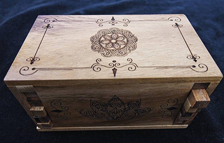 Creative Crafthouse Premium Mandala Secret Lock Puzzle Box