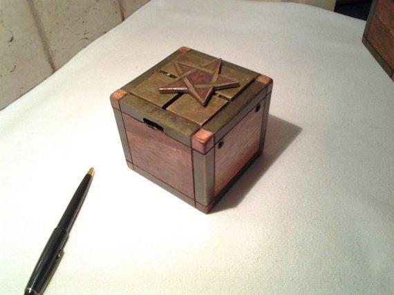 EdenWorkx Navigator's Box Premium Handmade Puzzle Box