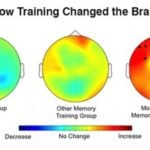 EEG results from brain training