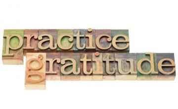 Less Attitude.  More Gratitude.