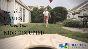 4 Low-Tech Games To Keep Your Kids Occupied