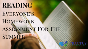 Reading – Everyone's Assignment For The Summer