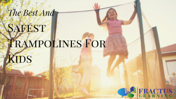The Best and Safest Outdoor Trampolines For Kids