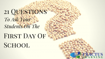 21 Icebreaker Questions You Should Ask Your Students On Their First Day Back To School