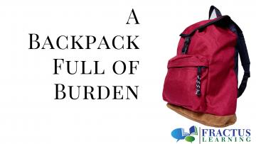 Backpack Full Of Burden