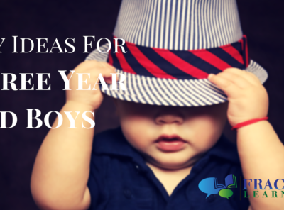 Your Guide To The Best Toys For 3 Year Old Boys