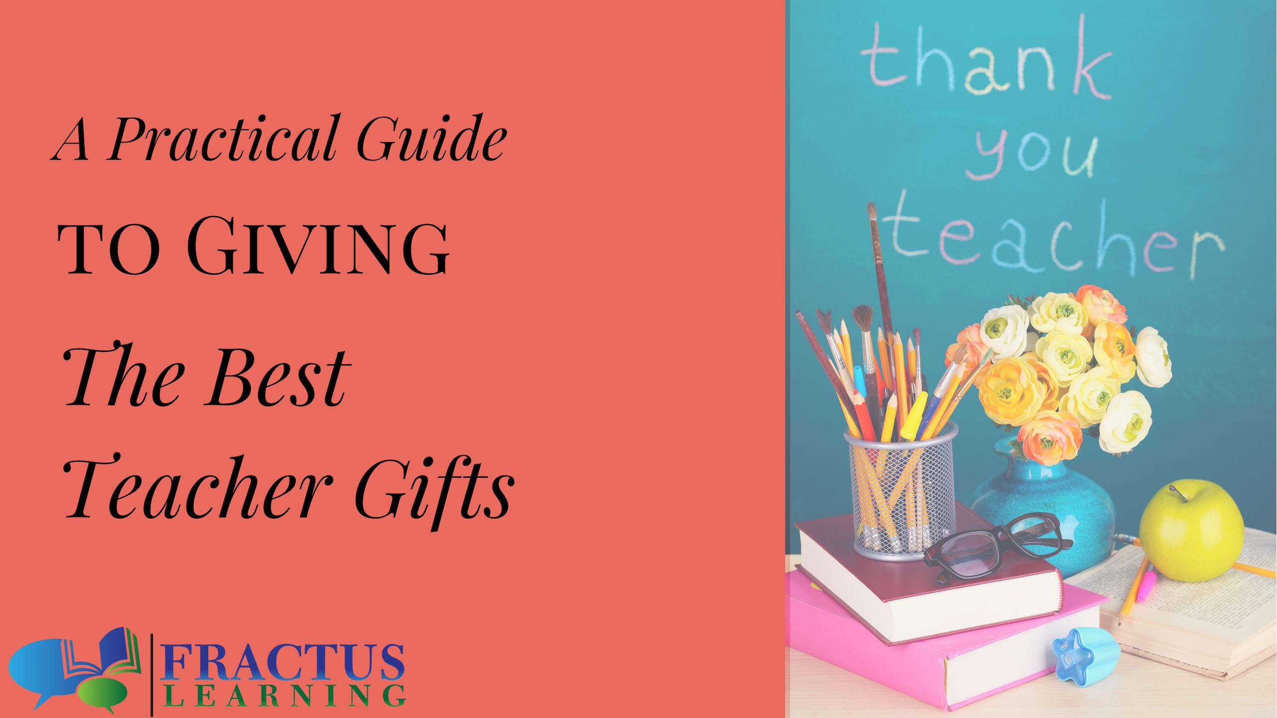 Best Teacher Gift Guide