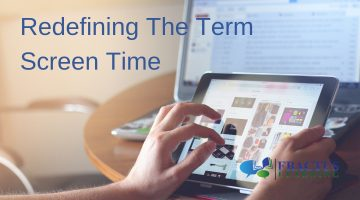 Reframing the term 'screen time'