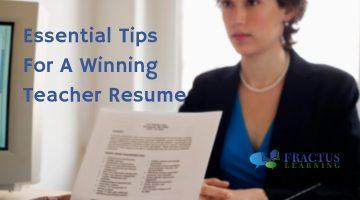 Essential Teacher Resume Tips To Get The Job You Deserve
