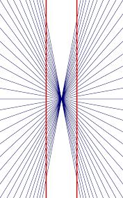 Image of Hering Optical Illusion