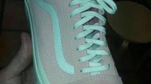 Image of Pink or Grey sneaker illusion