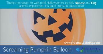 Screaming Pumpkin Balloon