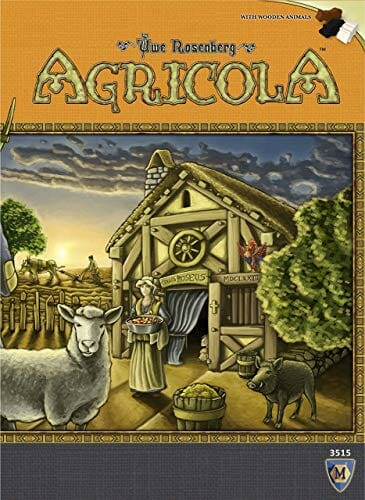 Agricola Two Player Board Game