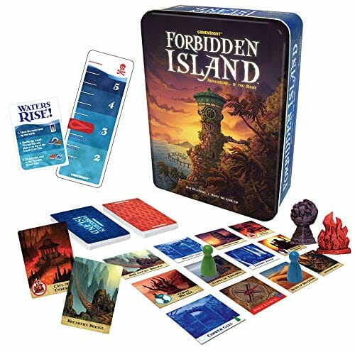 Forbidden Island Board Game For Two Players