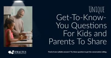 Unique Get To Know You Questions For Kids And Parents To Share