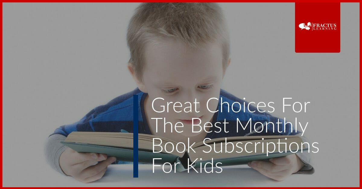Best Monthly Children's Book Subscription Available