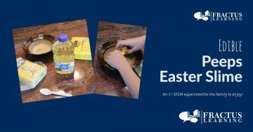 Edible Peeps Easter Slime