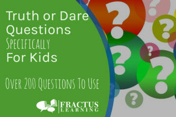 200+ Truth or Dare Questions for Kids