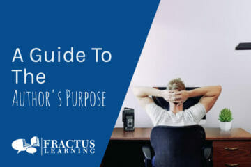 A Guide To The Author's Purpose