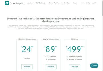 Premium Plus Includes Plagiarism Checks