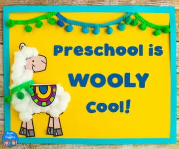 Preschool Is Wooly Cool
