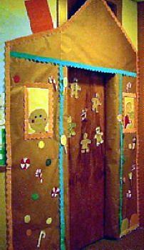 Gingerbread Man Door Decoration