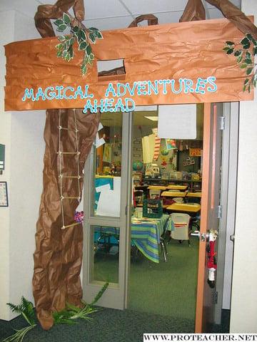 Magical Adventures Ahead Door Decoration