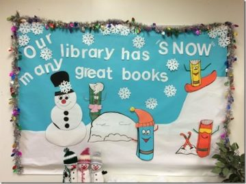 Our Library Has Snow Many Great Books