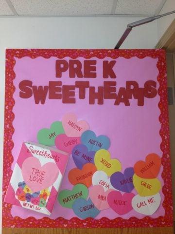 Prek Sweathearts