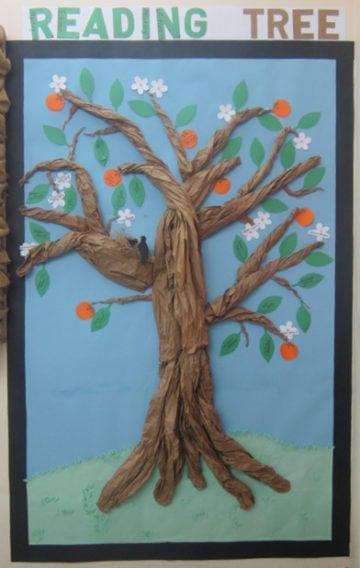 Reading Tree To Encourage Reading