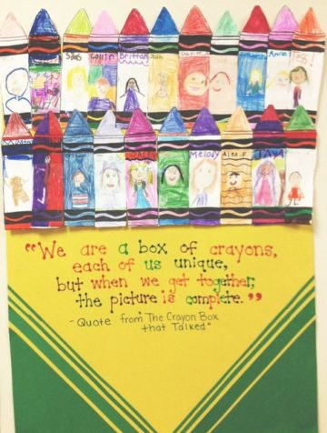 We Are A Box Of Crayons