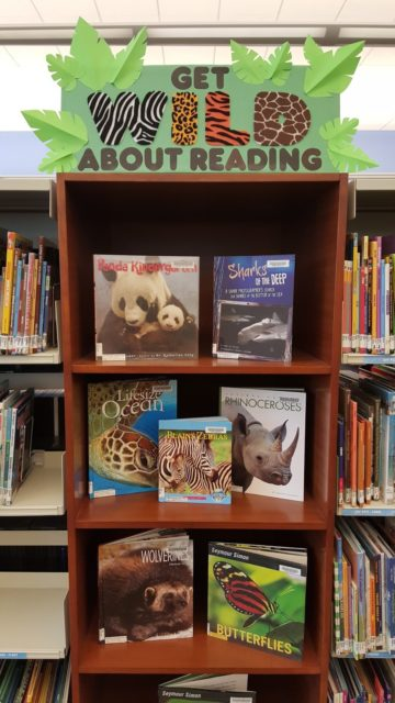 Get Wild About Reading Bulletin Board