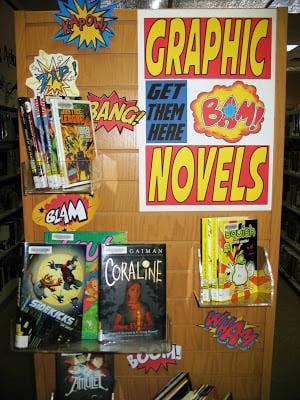 Graphic Novels Geth Them Here