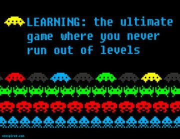 learning the ulitmate game where you enver run out of levels