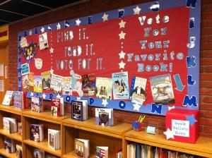Vote For Your Favorite Book Bulletin Board