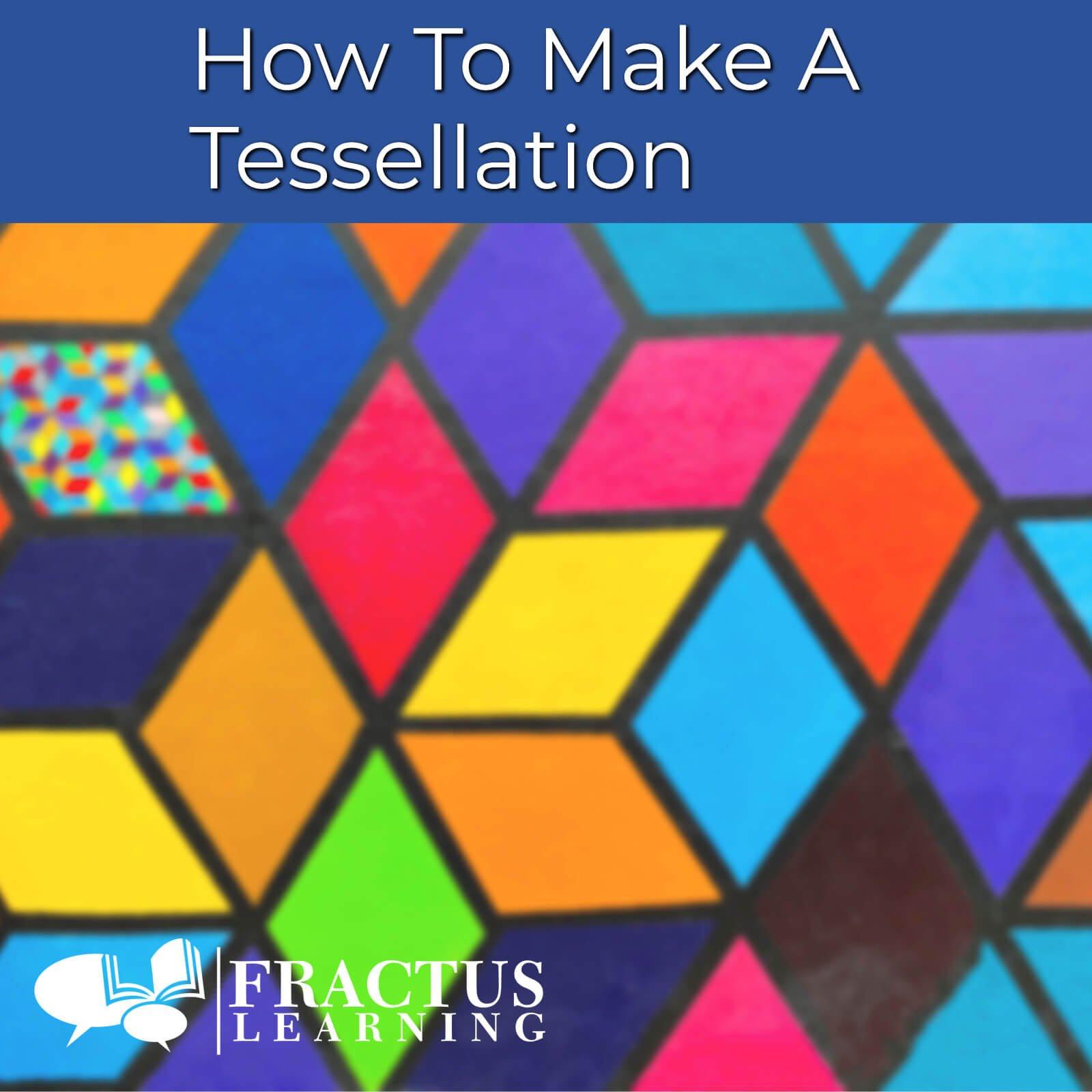 how to make a tessellation - tessellation ideas - translation math definition