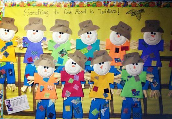 scarecrows bulletin board