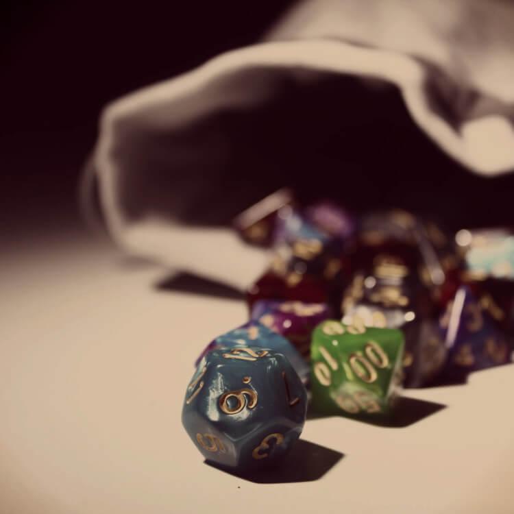 randomness through dice