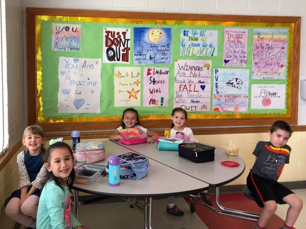 kids of character motivational bulletin board