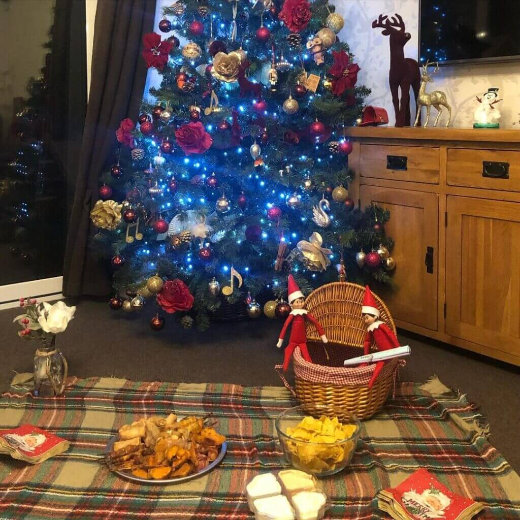 Elf On The Shelf Picnic