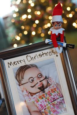 elf on a shelf family photos micheif