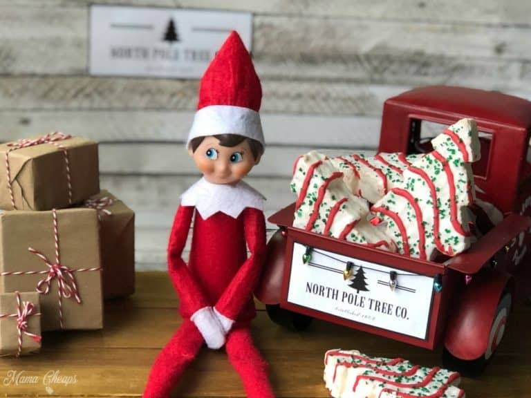 elf on the shelf christams tree