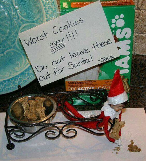 elf on the shelf and the worst cookies ever