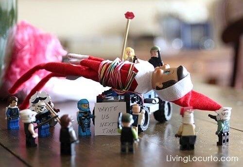 elf on the shelf lego ambush