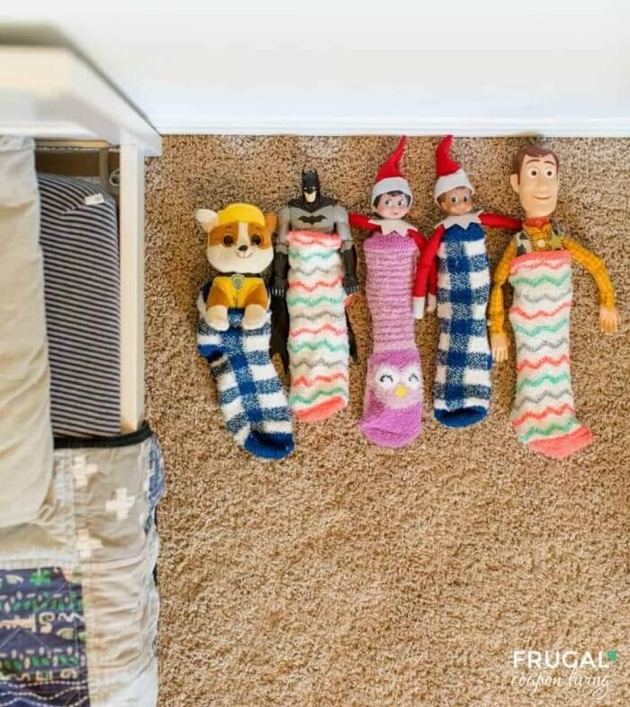 elf on the shelf sleeping bags