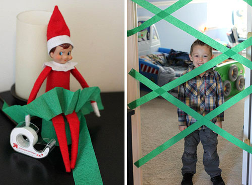 elf on the shelf traps kid